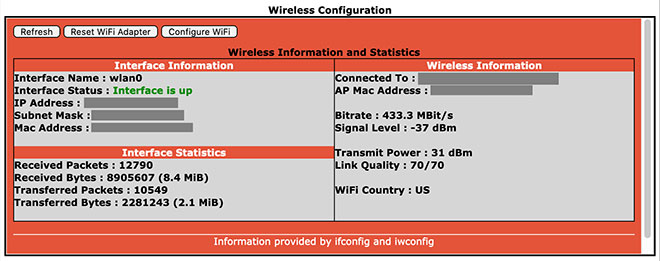 Additional configuration settings - Wireless Configuraiton