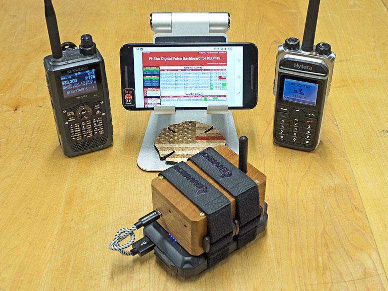 Minimalist ZUMspot mobile hotspot